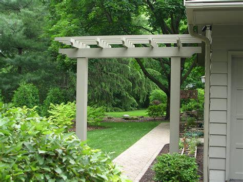 Trellis Plans Free Post Arbor Landscapes By Earth Design