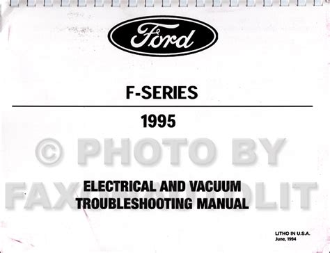 electric and cars manual 1995 ford f series navigation system 1994 1995 ford 7 3l idi diesel owner s manual original f250 f350 e350