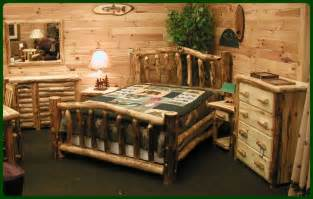 log cabin bedroom furniture log bedroom furniture for
