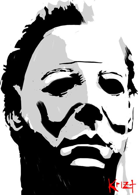 Michael Myers By Kriz507 On Deviantart Michael Myers Coloring Pages