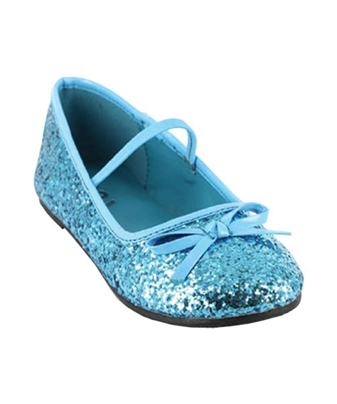 blue glitter shoes costumes