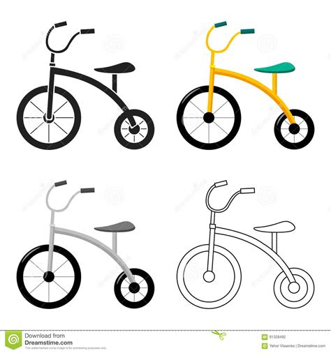 tricycle cartoon trike cartoons illustrations vector stock images 239