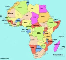 afrique carte cliquable