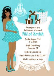 african american baby shower invitation dolanpedia