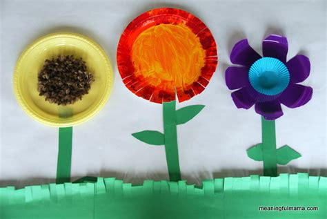 Making Flowers From Paper Plates Images Paper Flower Garden