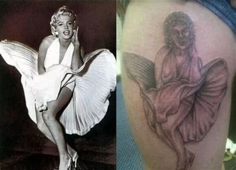 tattoo marilyn monroe fail 40 ridiculous tattoo fails that are so bad they re hilarious