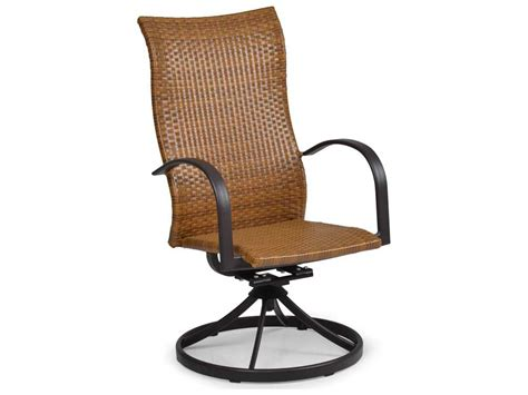 Swivel Tilt Dining Chairs Palm Springs Rattan Aluminum 3200 Series High Back Swivel Tilt Dining Chair Ps3231