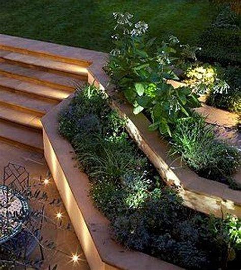 stepped garden design ideas awesome sloped backyard landscaping ideas