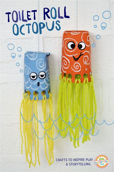 Crafts With Toilet Paper Rolls And Paper Towel Rolls - 25 best ideas about octopus crafts on