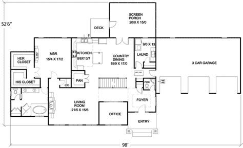 energy efficient small house plans energy efficient ranch on basement 16713rh