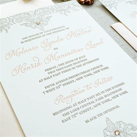 7 Ways To Lavish On The by 7 Ways To Make Your Wedding Invitations More Lavish