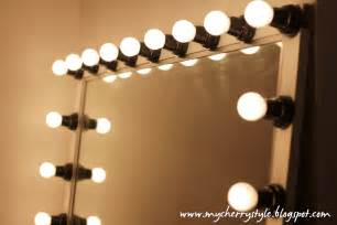 Vanity Mirror Lights Diy Diy Style Mirror With Lights Tutorial From