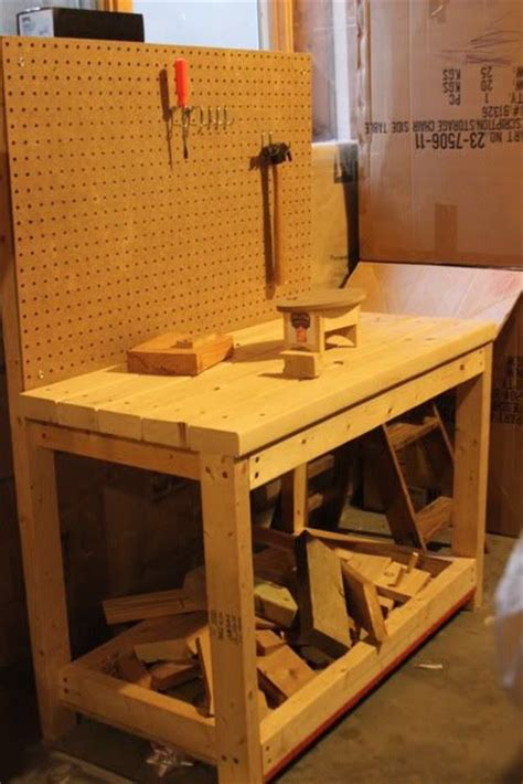 kids work bench diy wooden tool bench for kids building pinterest