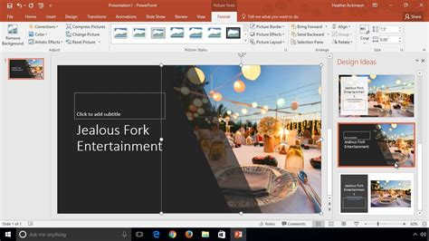 powerpoint design software design slides faster with powerpoint designer youtube