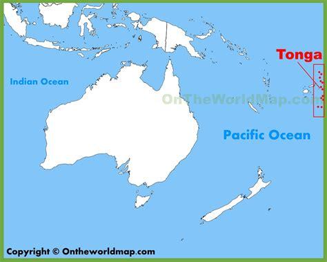 tonga on a world map tonga location on the oceania map