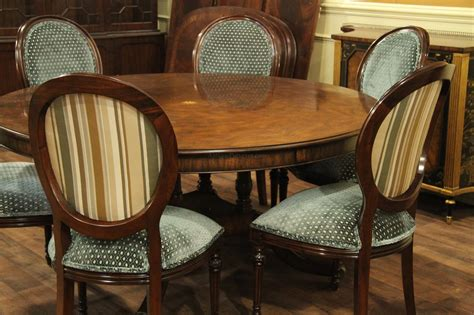 extra large round dining room tables extra large 64 88 inch round dining table with perimeter