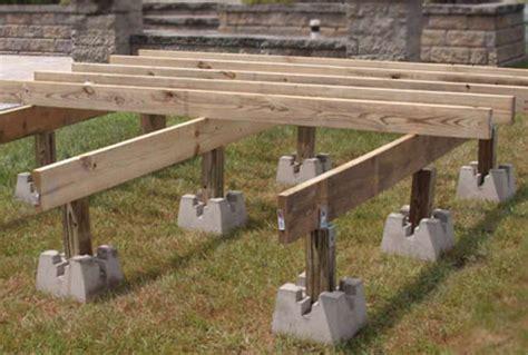 Build A Deck Using Deck Blocks Mycoffeepot Org