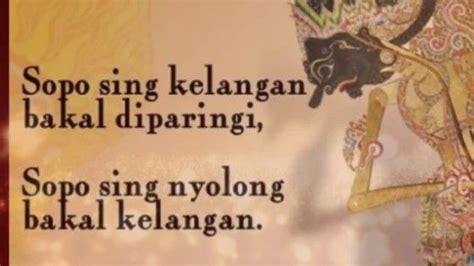kata bijak jawa kuno beserta artinya inspiratif