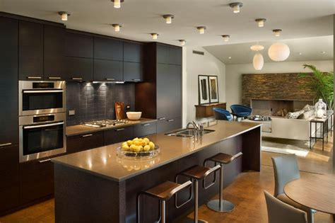 New Modern Kitchen Design by New Contemporary Home And Property Contemporary