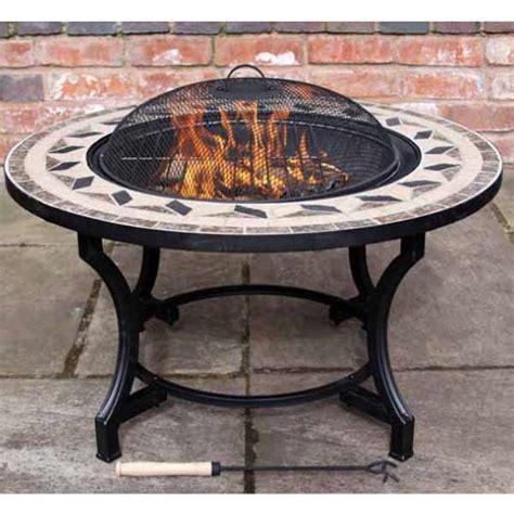 Gardeco Calenta Mosaic Bbq Fire Pit Firepit Bbq