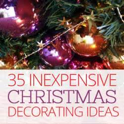 35 inexpensive christmas decorating ideas on a budget