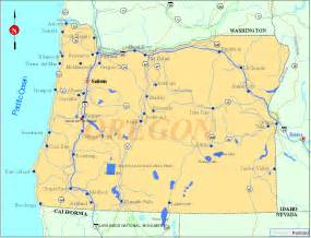 oregon map listings united states