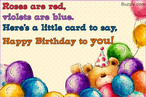 Birthday Card To A In