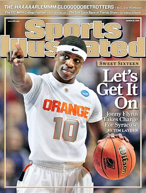 Sports Covers by Jonny Flynn Done Sports Illustrated Covers Troy