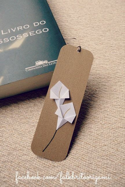 Origami Flower Bookmark - best 25 origami bookmark ideas on paper