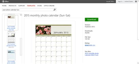 customizable calendar templates for microsoft office