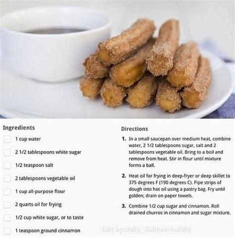 quick churro recipe delicious pinterest