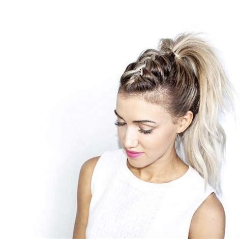 Black Hairstyles Braids Ponytails by New Hairstyle Ideas Ponytails With Braids Hair World