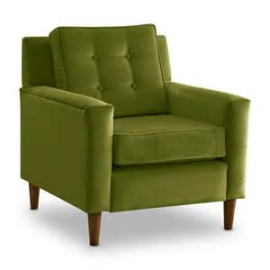 apple green velvet crate chair at hayneedle - Green Accent Chair