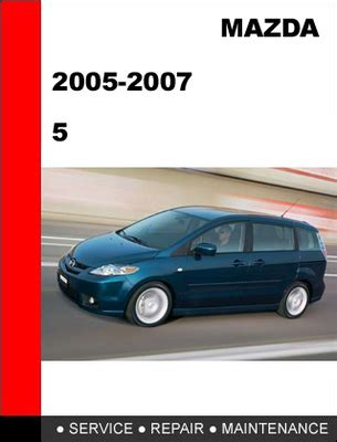 buy car manuals 2007 mazda b series transmission control mazda 5 2005 2006 2007 workshop service repair manual download ma