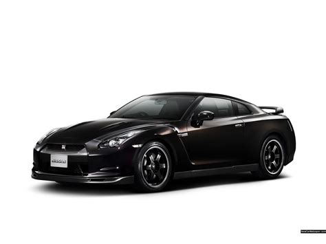 Nissan Black Car 1280x800