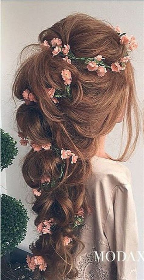 Wedding Hairstyles With Jewels by Wedding Hair With Flowers Jewels Youfashion Net