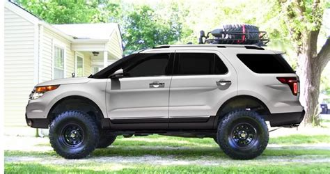 2016 ford explorer lifted talk about a lift ford explorer and ford ranger forums