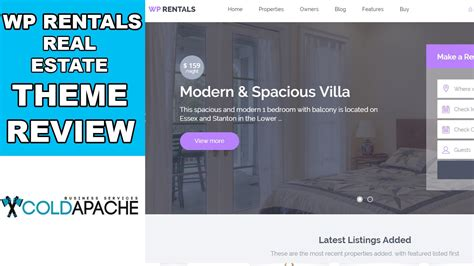 theme wordpress airbnb want to build an airbnb copy wp rentals theme review