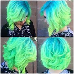 blue green hair color blue green hair pictures photos and images for