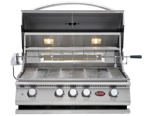 cal flame p4 32 inch drop in built in grill bbq13p04