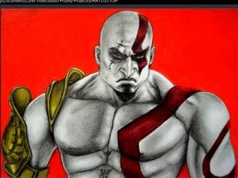 imagenes de kratos para dibujar faciles c 211 mo dibujar a kratos de god of war youtube