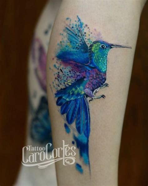watercolor tattoo nanaimo the 25 best hummingbird watercolor ideas on
