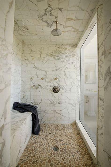 white stone tile bathroom 29 white stone bathroom tiles ideas and pictures