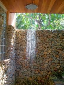 to da loos lava rock outdoor showers