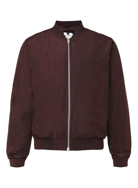 Bomber Jacket burgundy lightweight bomber jacket s coats jackets