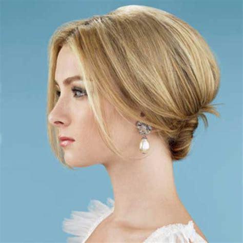 hairstyles short hair bun 30 wedding hair styles for short hair hairstyles