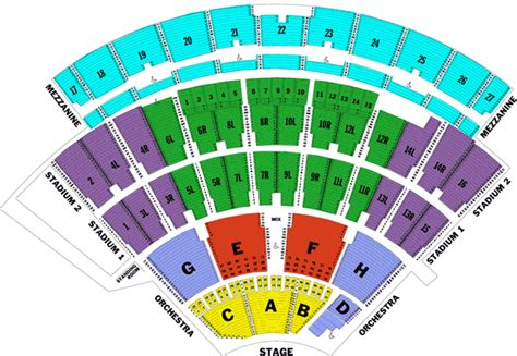 jones seating chart zac brown band northwell health at jones theater