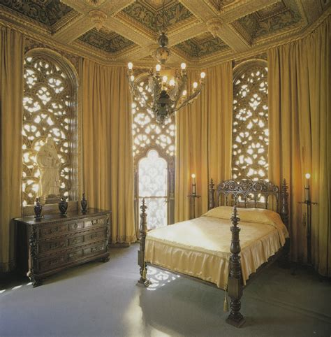 Castle Bedroom by Tower Bedroom Hearst Castle