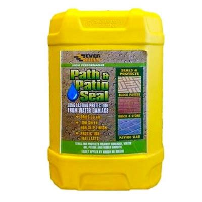 Patio Sealer by Everbuild 405 Path Patio Seal Sealer 25 Litres Pat25