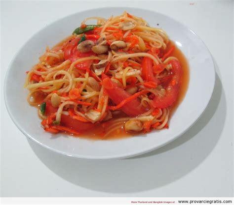 ricette cucina thai ricetta papaya salad